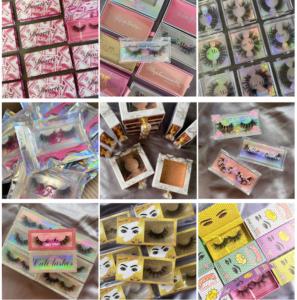 custom eyelash box vendors