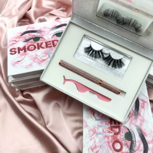 empty eyelash packaging wholesale